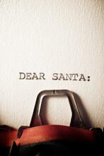 Dear Santa Concept