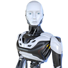 Robot Android Cyborg