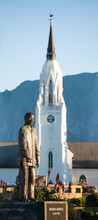 Statue Of Nelson Mandela / Madiba In Worcester South Africa