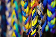 Close Up Of Colorful Beads