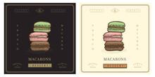 French Macarons Vintage Retro ...