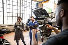 Auto Mechanics With Shocks Fil...