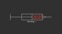 Illustration Pour La Nouvelle Année 2021