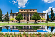 The Supreme Court Of Appeal With Reflection In The Pond In Free State Bloemfontein South Africa