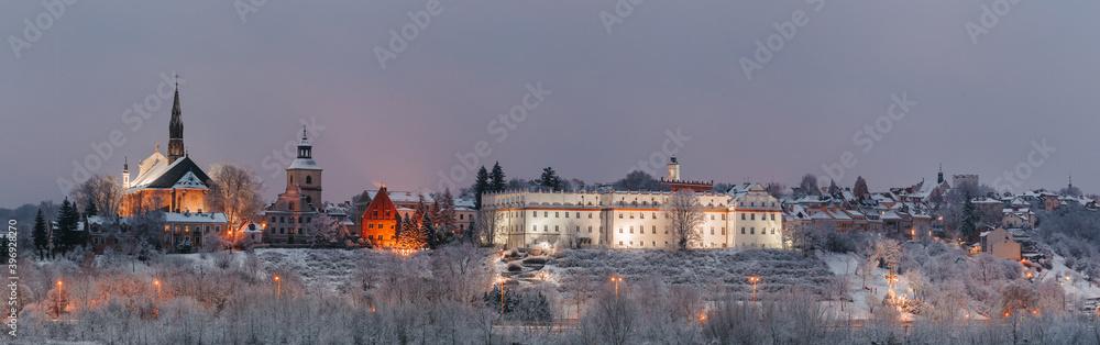 Fototapeta Panorama Sandomierza, Świętokrzyskie Voivodeship, Sandomierz, Polska