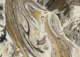 Fototapeta Kamienie - Beżowo brązowe tło kamień marmur, tekstura.