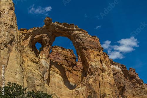 Obraz na plátně Grosvenor Arch at Grand Staircase-Escalante National Monument, Utah, USA