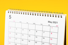May 2021 Calendar Desk For Organizer To Plan And Reminder.