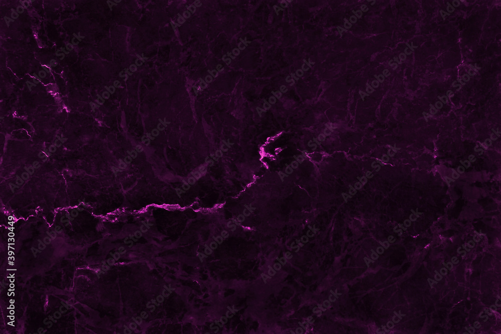 Fototapeta Dark purple marble seamless texture with high resolution for background and design interior or exterior, counter top view.