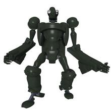 3d Render Of A Robot
