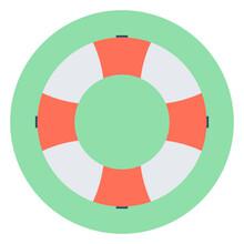 Lifering Vector Icon