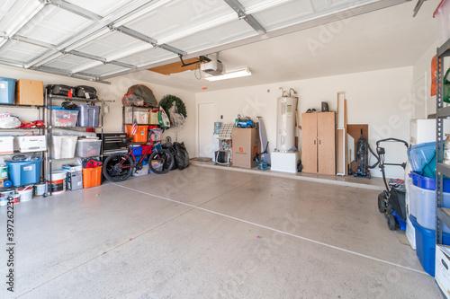 Obraz na plátne Interior Garage