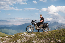 Travel On A Classic Motorcycle