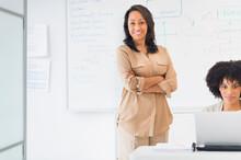 African American Businesswomen In Office
