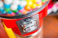 Handle Of Gum Ball Machine