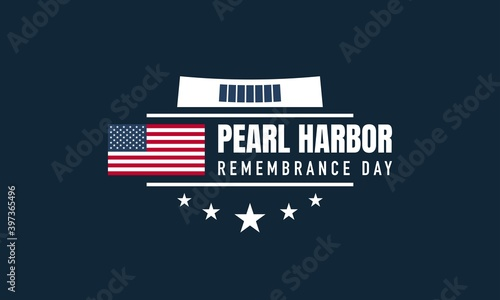 Fotografie, Obraz Pearl Harbor Remembrance Day Background.