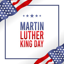 Vector Graphic Of Martin Luther King Day Good For Martin Luther King Day Celebration. Flat Design. Flyer Design.flat Illustration.