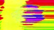 Analog Video Colors Shapes Signal Feedback Abstract Background