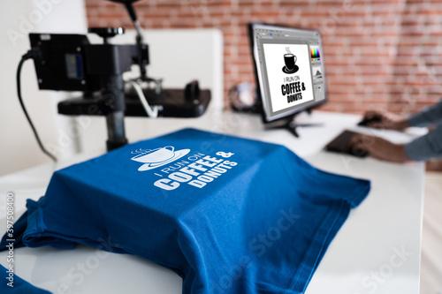 Fotografia Heat Transfer T Shirt Printing