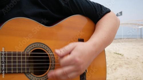 Acoustic Guitar Arpeggios Fototapet