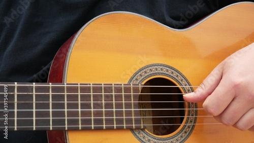 Fotografering Acoustic Guitar Arpeggios