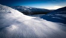 Fresh Snow Field, Yorkshire Dales