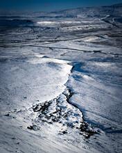 Yorkshire Dales Winter Snow Scene