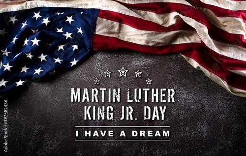 Happy Martin Luther King Day concept Tapéta, Fotótapéta