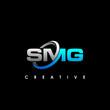SMG Letter Initial Logo Design Template Vector Illustration