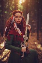 Brave Fantasy Warrior