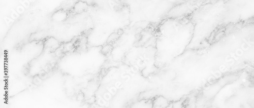 Marble granite white panorama background wall surface black pattern graphic abstract light elegant gray for do floor ceramic counter texture stone slab smooth tile silver natural Fototapet