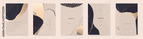 Modern elegant abstract universal background templates. Minimalist aesthetic.