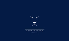Logo Vector Of Lion Head With Arrow. Simple Style. Logotype For Template