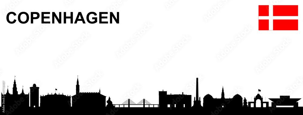 Fototapeta Kopenhagen Skyline