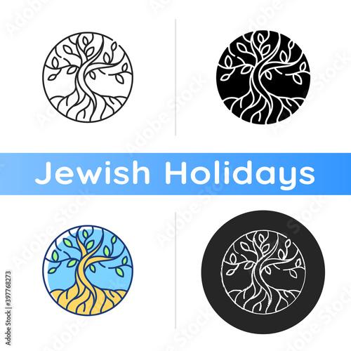 Fotografia, Obraz Life tree icon