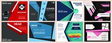 Brochure Flyer Template Design Ideas Illustration