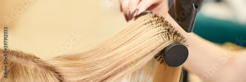 Fotografia, Obraz Repair long hair procedure