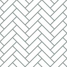Tile Vector Pattern Set Against White, Gray, Zig Zag Background. EPS10