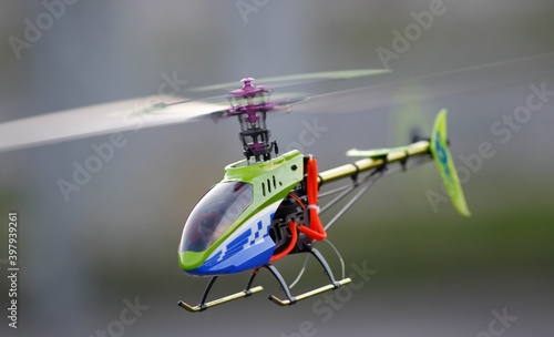 Fotografie, Tablou close-up of drone helicopter