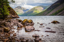 On The Shores Of Wastwater In The Lake District,  Cumbria,  United Kingdom