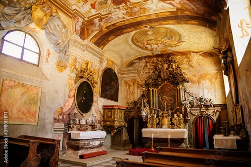 Photographie Interior of chapel of the Conversion of St