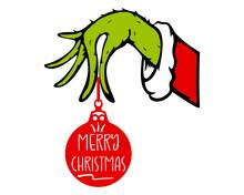 Merry Christmas Grinch Hand Svg, Christmas 2020 Svg, Grinch Svg, Christmas Svg, 2020 Stink Stank Stunk SVG,EPS,PNG, Digital File Download