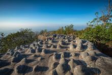 Viewpoint At Stones Mountain Peak Or Lan Hin Poom, Phu Hin Rong Kla National Park In Phitsanulok Province, Thailand