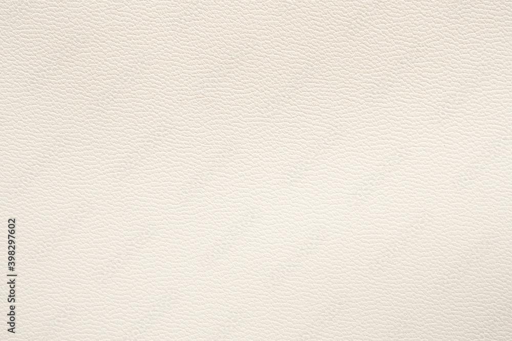 Fototapeta White leather texture luxury background