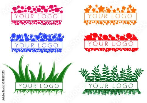 Fototapeta Logo różne warianty obraz