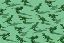 Models Of Dinosaurs Pattern.