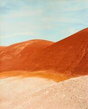 Colorful Desert Hills