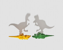 Big Shadows From Dinosaurs Toys.