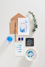 Handmade Gift Greeting Card For Love Letter Creating