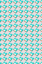 Old-fashioned Diskettes Pattern.